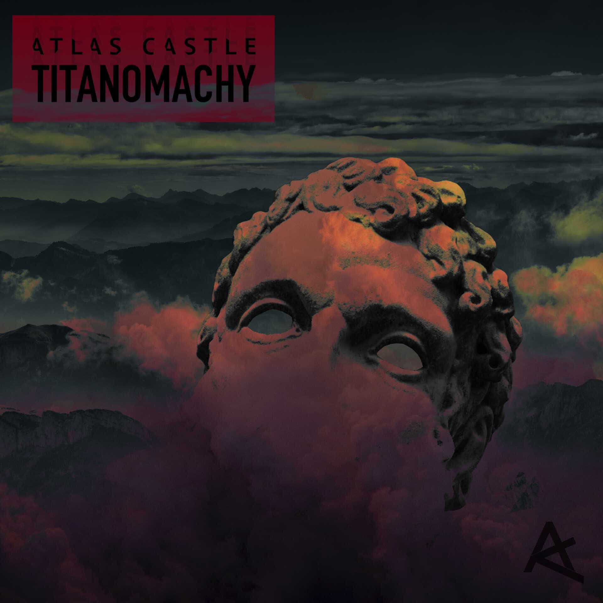 The artwork for the EP Titanomachy by Atlas Castle
