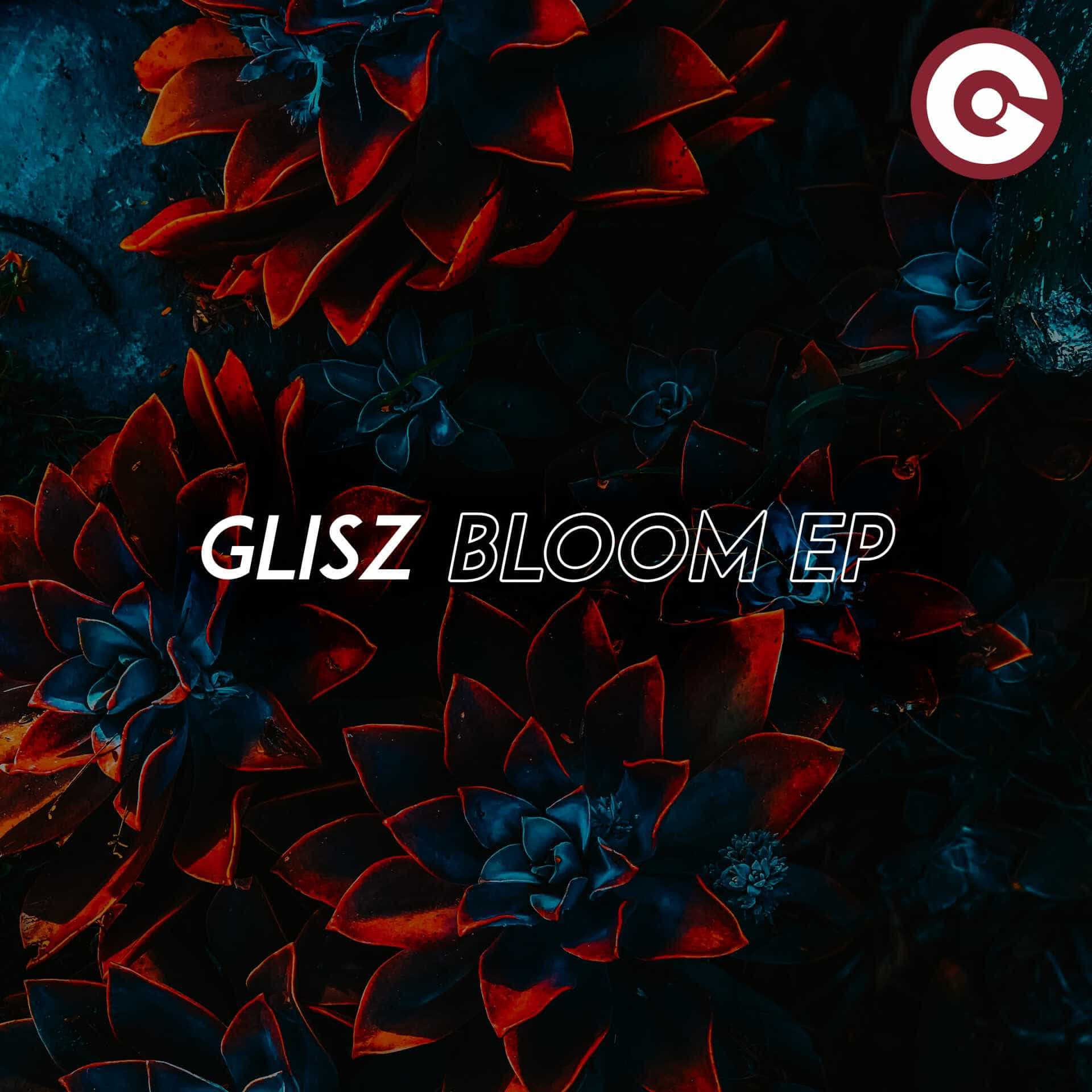 The artwork for the EP Bloom by Glisz