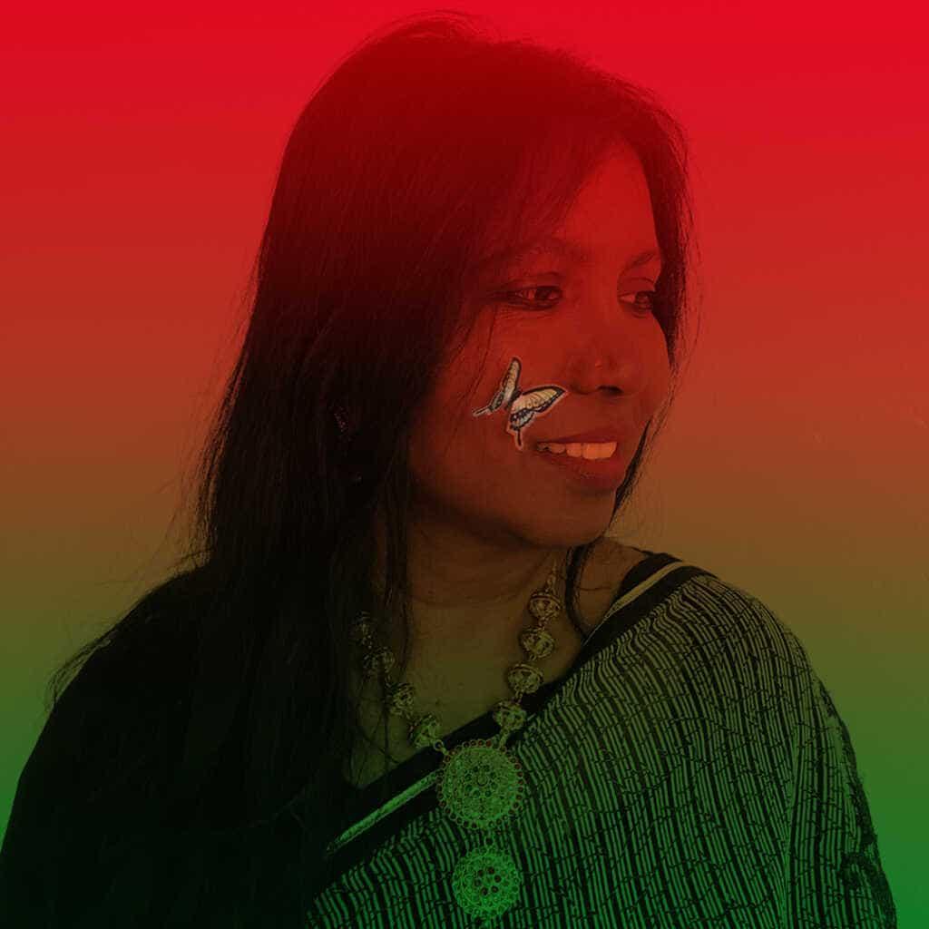 Singer Premsanthy Dubois from Rainbow Sahana